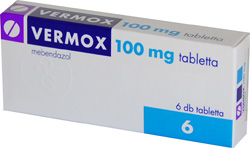 vermox egy pinwormses gyermek számára online bolt vesz a parazitákból
