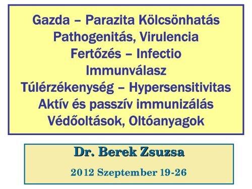 Egészségügyi jegyzetek - 1 - Mikrobiológia - Parazitológia