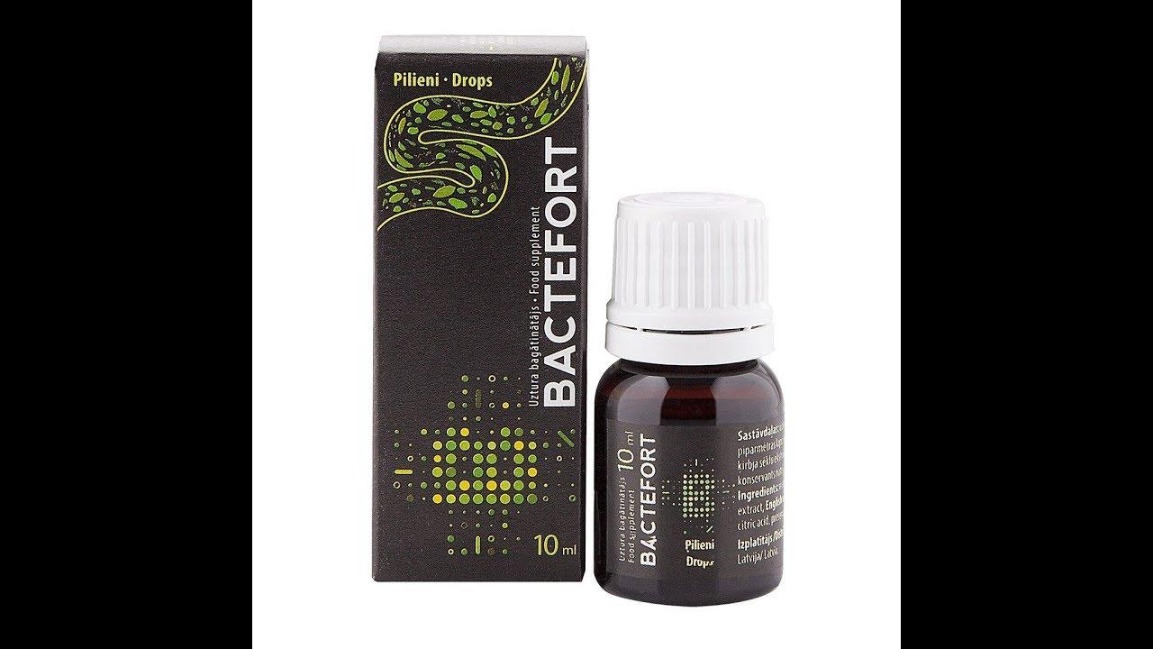 Melyik gyógyszer jobb a paraziták áttekintése. Milyen módon működik a Bactefort?