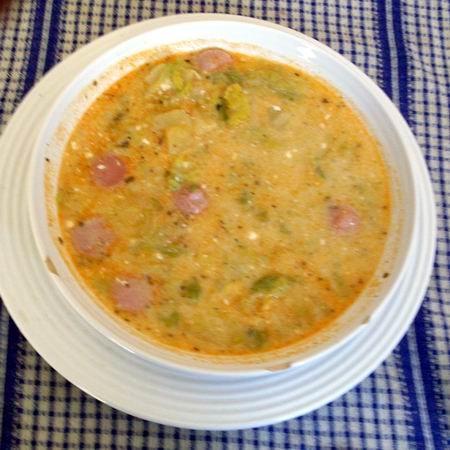 Frankfurti, avagy virslis kelkáposzta leves - Eszterlánc főz